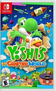 Amazon: Yoshi's Crafted World - Nintendo Switch - Standard Edition