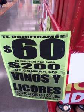Comercial Mexicana: $60 de descuento por cada $200 en vinos, licores y más ofertas