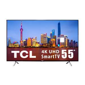 Walmart: TV TCL 55 Pulgadas 4K Ultra HD Smart TV LED 55S412