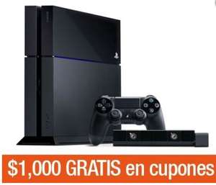 Decompras: PS4 o Xbox One con Kinect y juego $5,940 + $1,000 de bonificación
