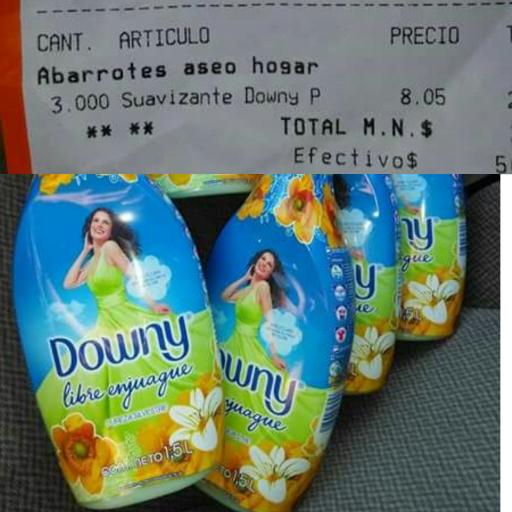 Chedraui: Suavizante Downy de 1.5L a $8