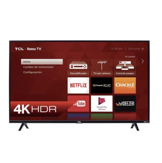 """Buen Fin Best Buy: pantalla TCL 43"""" UHD 4K Roku TV pagando con Banorte (agregando al carrito cualquier otra cosa)"""