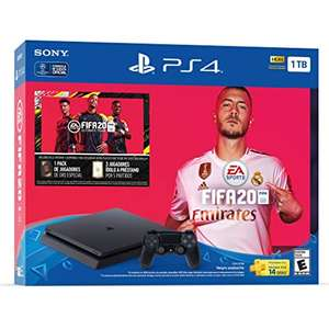 Elektra en línea: Consola PS4 1TB FIFA 20 con Banamex