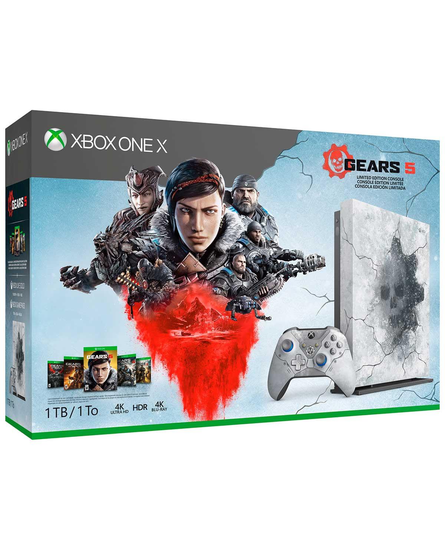 Game Planet: Xbox one x 1tb edición especial Gears 5 (con HSBC)