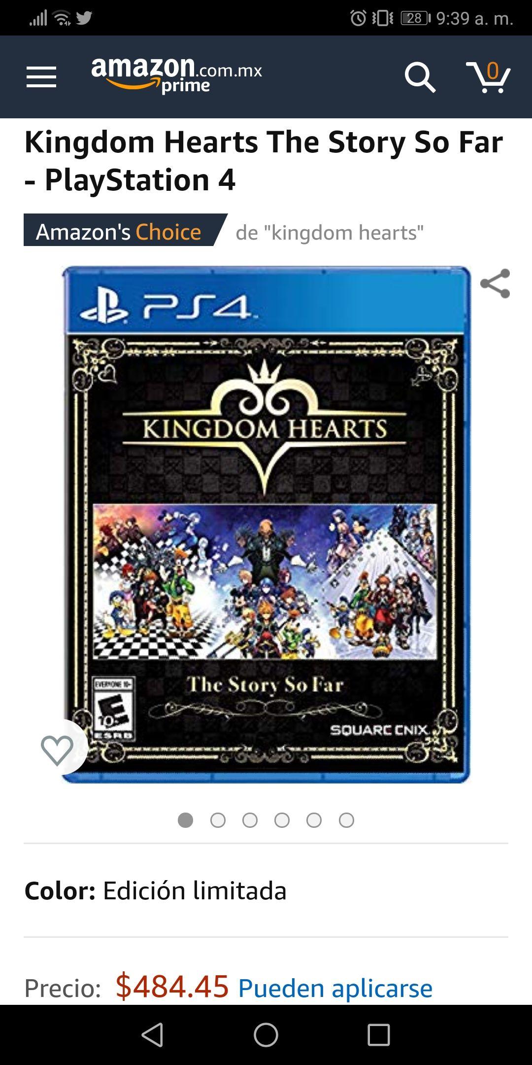 Amazon: Kingdom Hearts The Story So Far