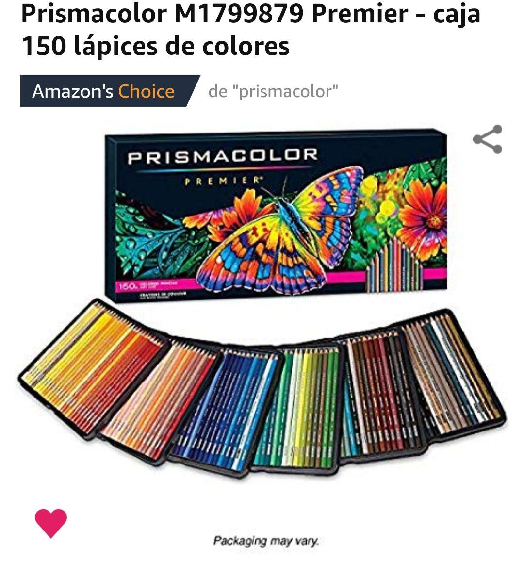 Amazon: Prismacolor M1799879 Premier - caja 150 lápices de colores