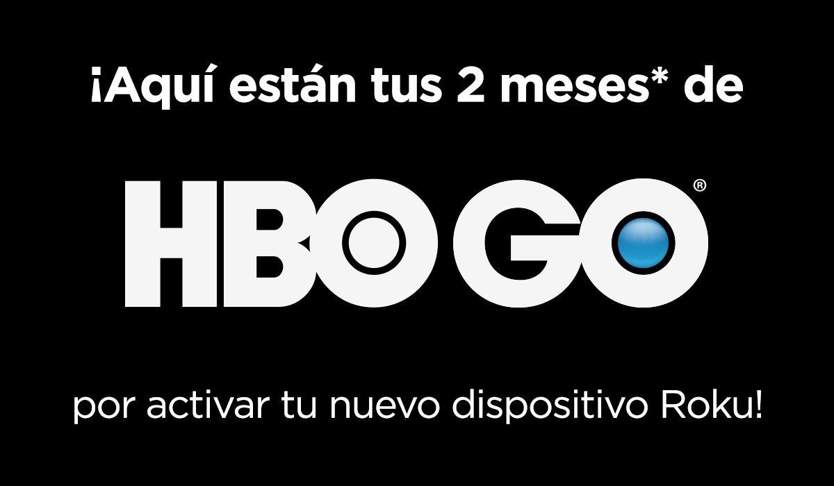 Roku. HBOGO gratis por 2 meses
