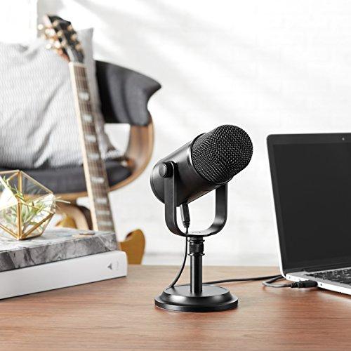 Amazon: Micrófono USB AMAZON Basic en un muy buen precio ya con el 30% aplicado