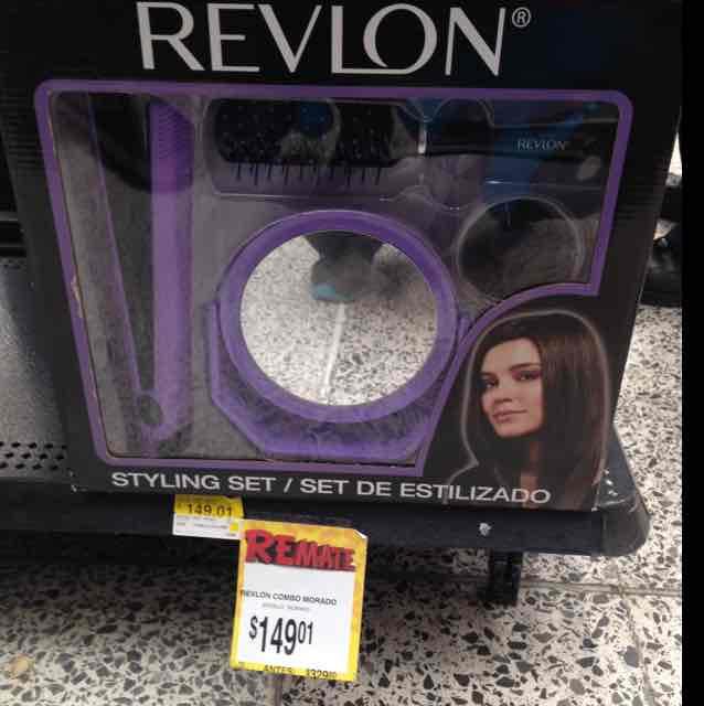 Bodega Aurrerá: plancha para cabello Revlon a $149