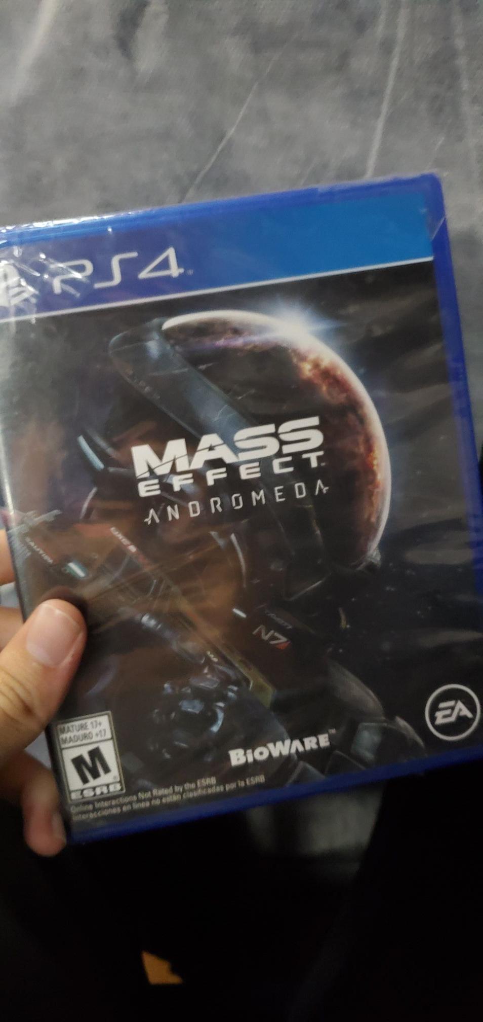 Gamers: Mass Effect Andrómeda