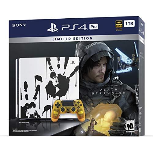 Amazon: Consola PS4 PRO 1TB Edición Limitada Death Stranding Bundle (pagando con Banorte)