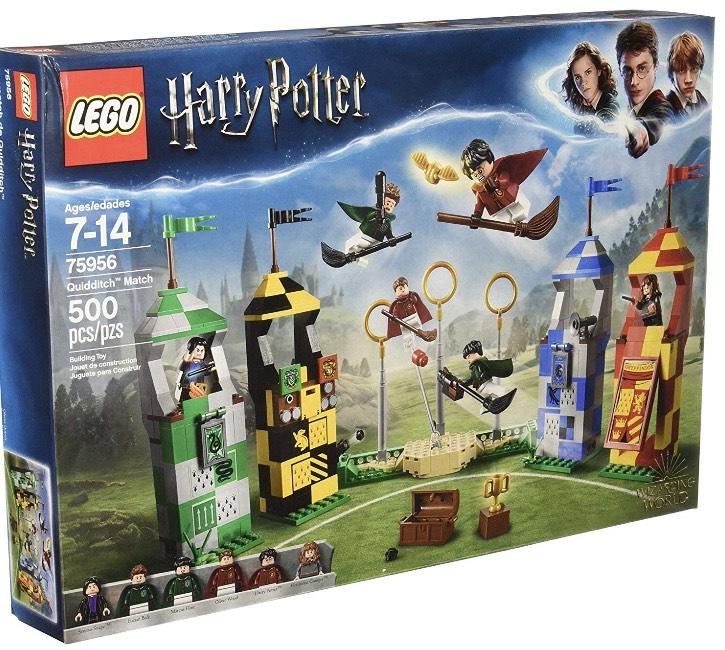 Amazon Lego Harry Potter Partido de Quidditch (48% de descuento)