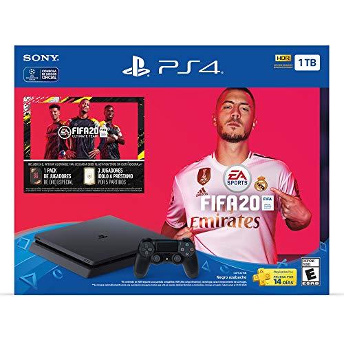 Amazon: Consola PS4 1TB + FIFA 20 con Citibanamex