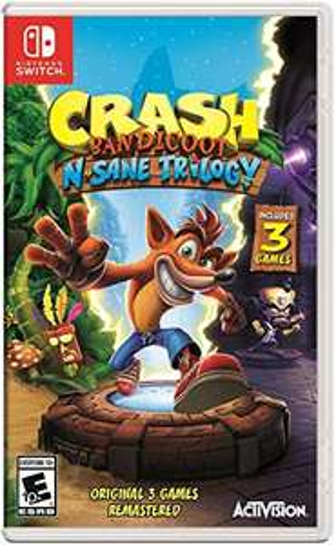 Amazon: Crash Bandicoot N. Sane Trilogy - Standard Edition - Nintendo Switch
