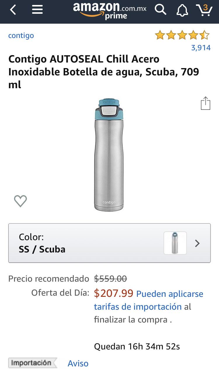 Amazon: Termo de acero Inoxidable AUTOSEAL Chill $207.99