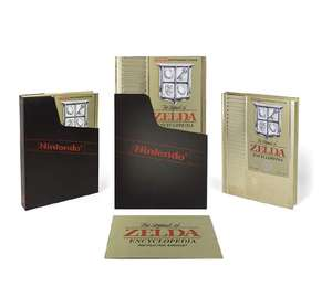 Amazon: The Legend of Zelda Encyclopedia Deluxe Edition