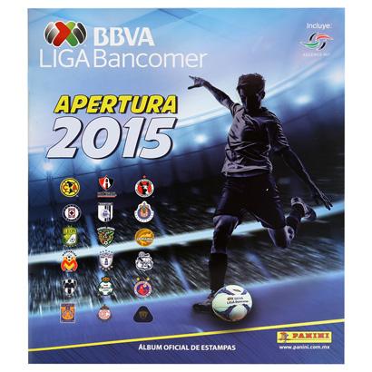 Netshoes: Album Panini Liga MX 15-16 a $1