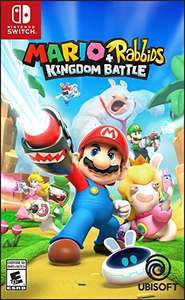 Amazon: Mario + Rabbids nintendo switch oferta relampago