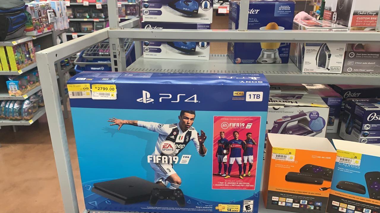 Walmart Deportiva Villahermosa: PS4 Slim con FIFA 19