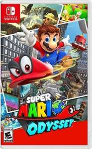 Amazon: Super Mario Odyssey - Nintendo Switch - Standard Edition
