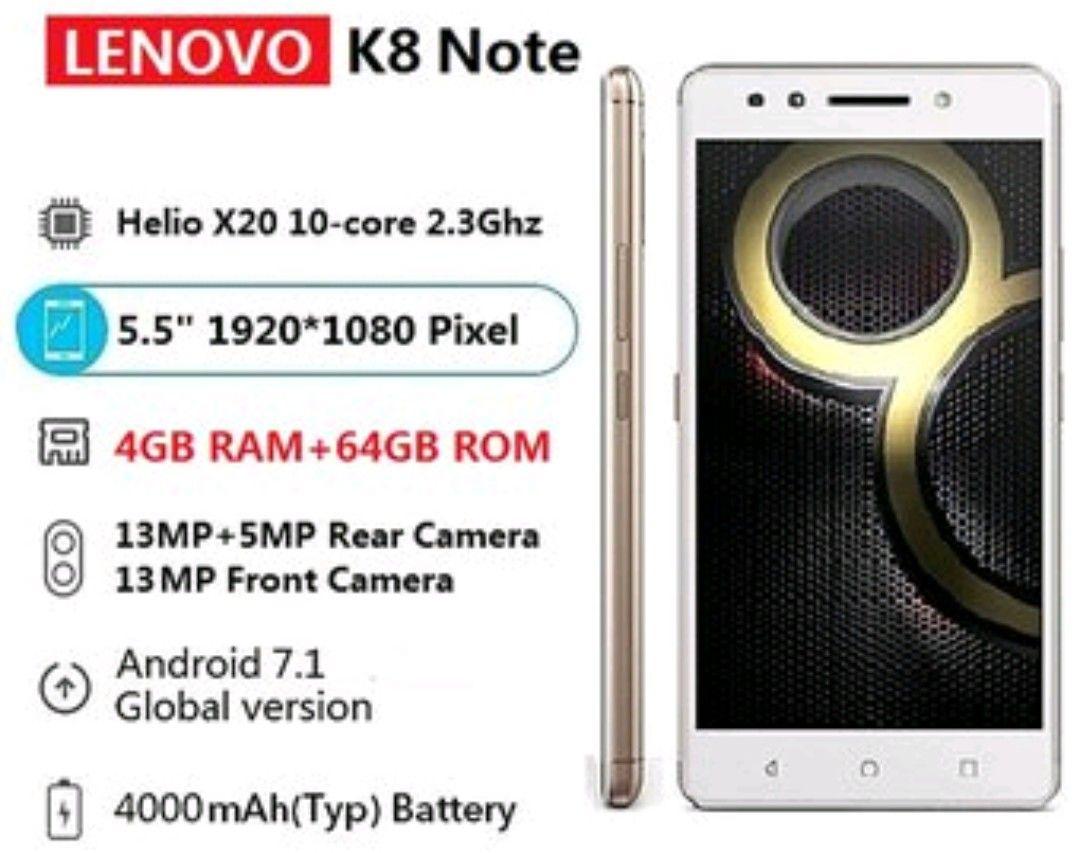 Linio: Lenovo K8 note 4ram+64rom déca-core pagando con paypal