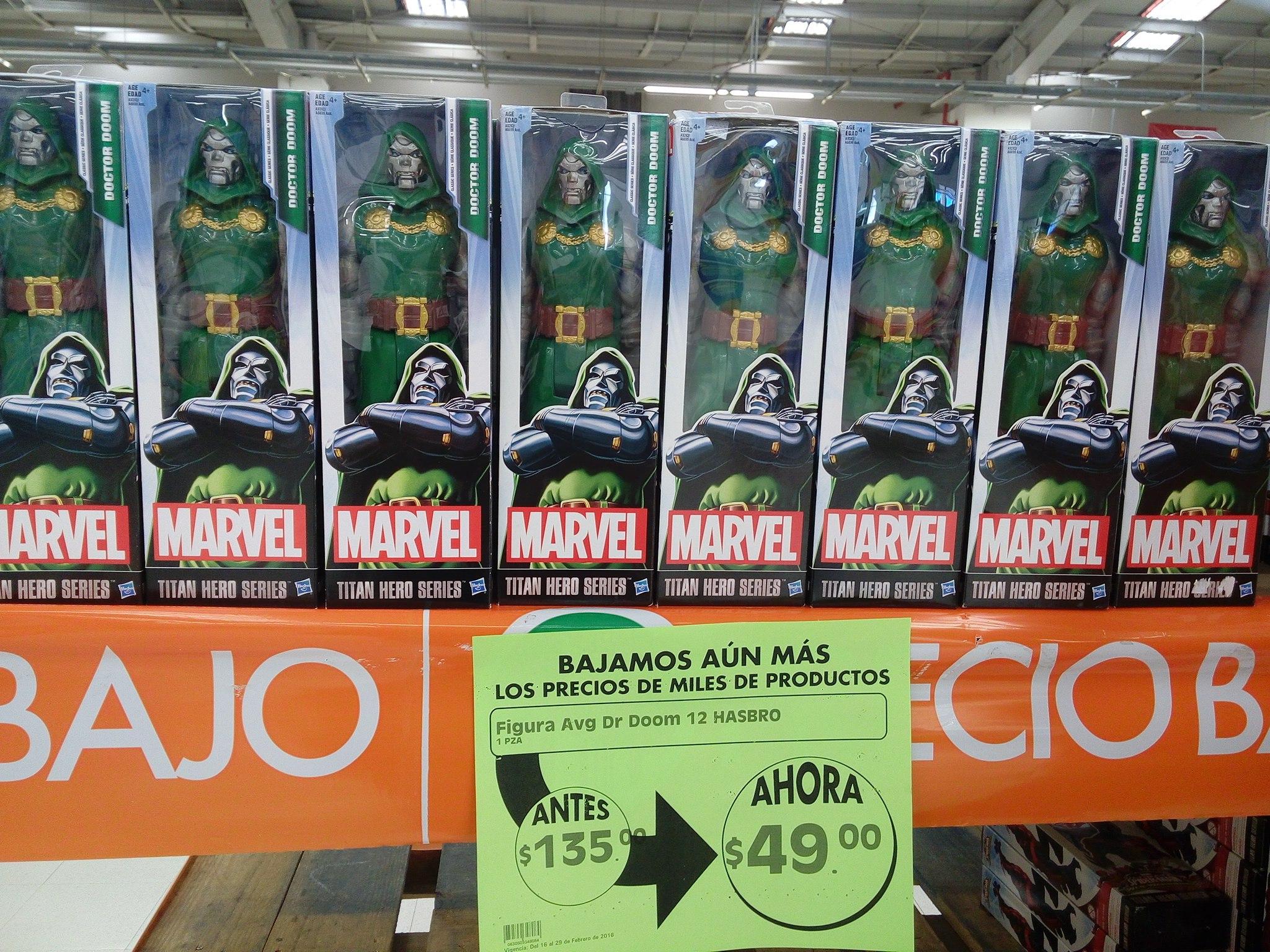 Comercial Mexicana: figuras de Marvel a $49 y Avengers a $59