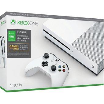 Linio: Xbox One S Reacondicionada (pagando con Paypal)