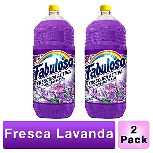 Amazon: Fabuloso 16 litros. ($8.18 por litro)