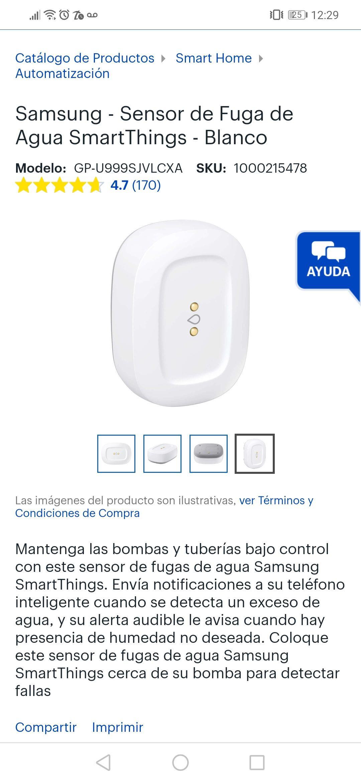 Bestbuy:Samsung sensor de. Fuga de agua