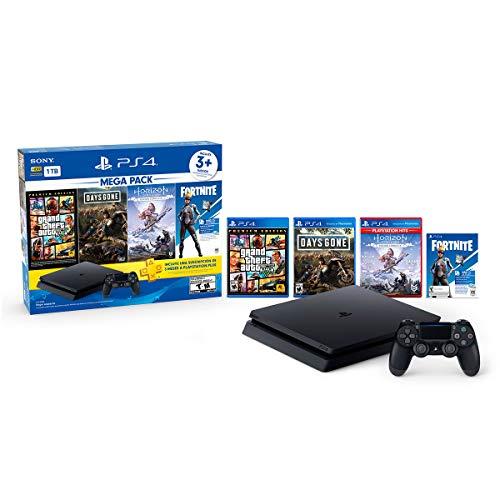 Amazon: PlayStation 4 Slim 1 TB (Mega Pack) (con Citibanamex)