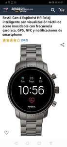 Amazon Smartwatch Fossil Gen 4 con Android Wear OS
