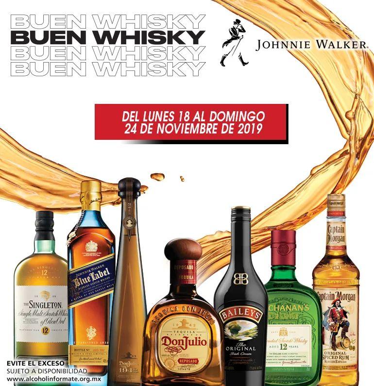 Bodegas Alianza: Ofertas Buen Whisky del Martes 19 al Domingo 24 Noviembre