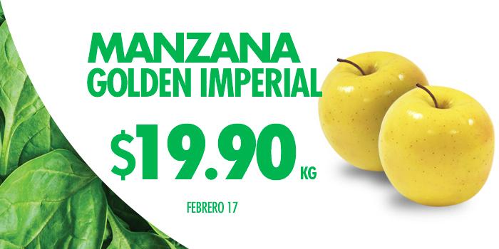 Hoy es Miércoles en Comercial Mexicana febrero 17: Manzana Golden Imperial a $19.90 el kilo y más