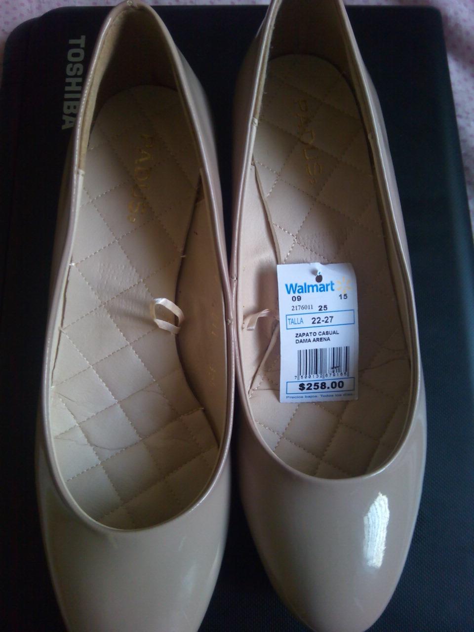 Walmart: Liquidación zapatos para dama desde $60.02