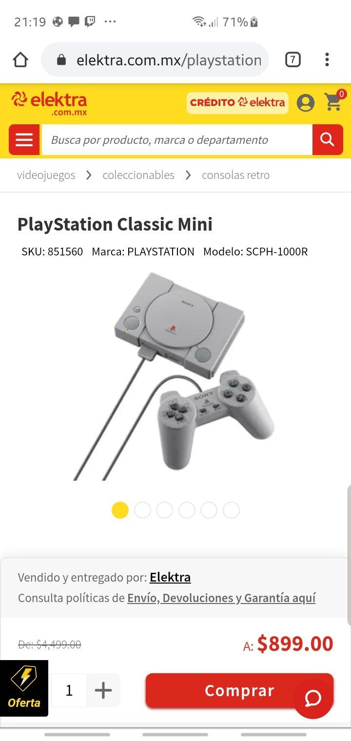 Elektra: PlayStation Classic