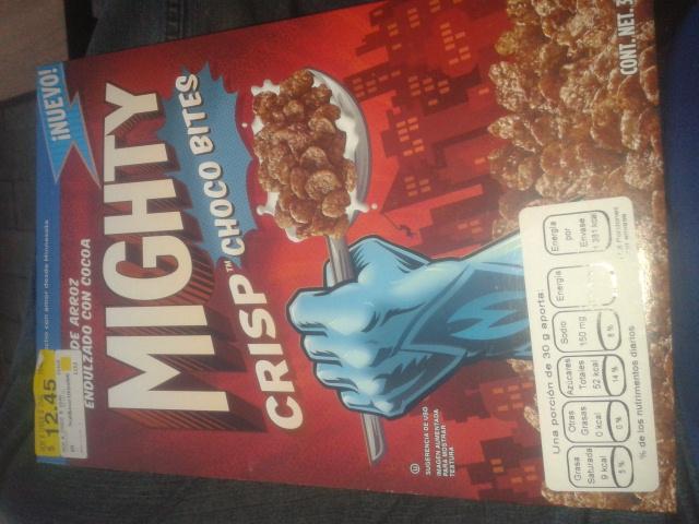 Walmart: cereal de arroz y chocolate mom de 380g