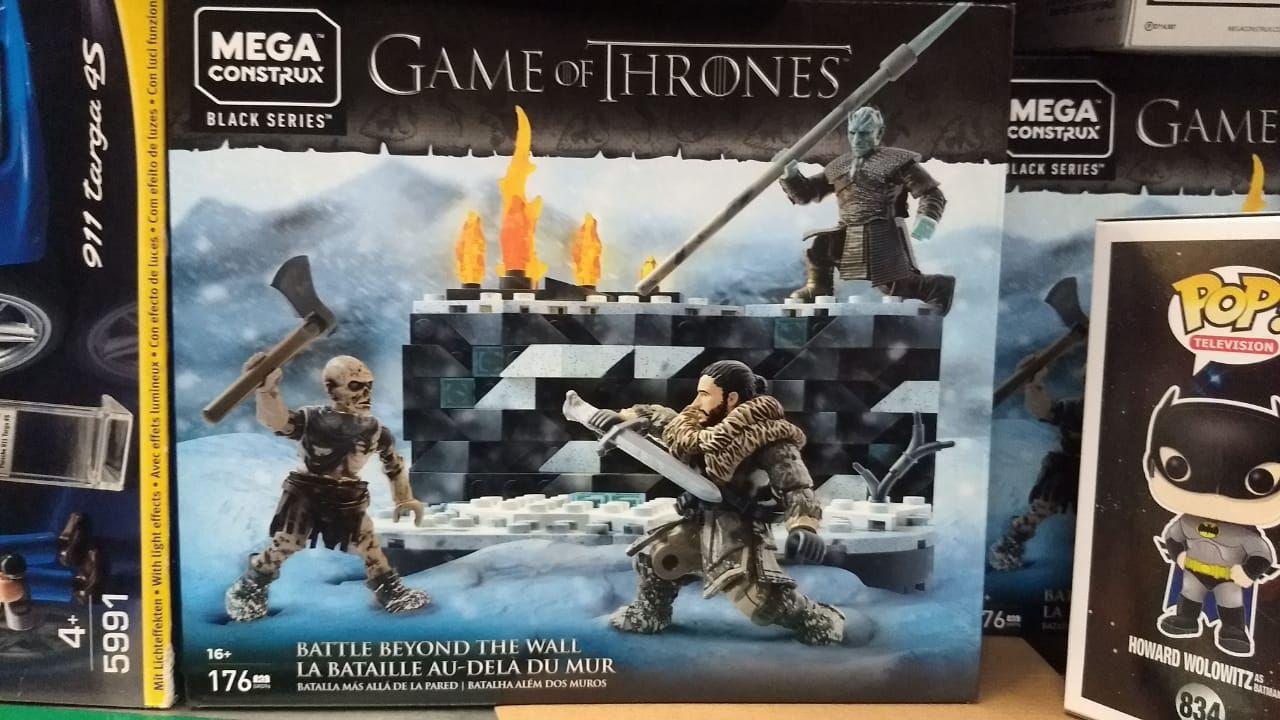 Walmart: Mega Construx Game of Thrones Set Batalla de Caminantes Blancos P