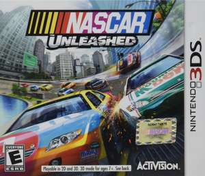 Amazon MX: Nascar Unleashed para Nintendo 3DS Standard Edition a $69