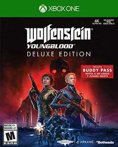 Amazon - Wolfenstein: Youngblood - Xbox One - Deluxe Edition - a solo $288 pesitos