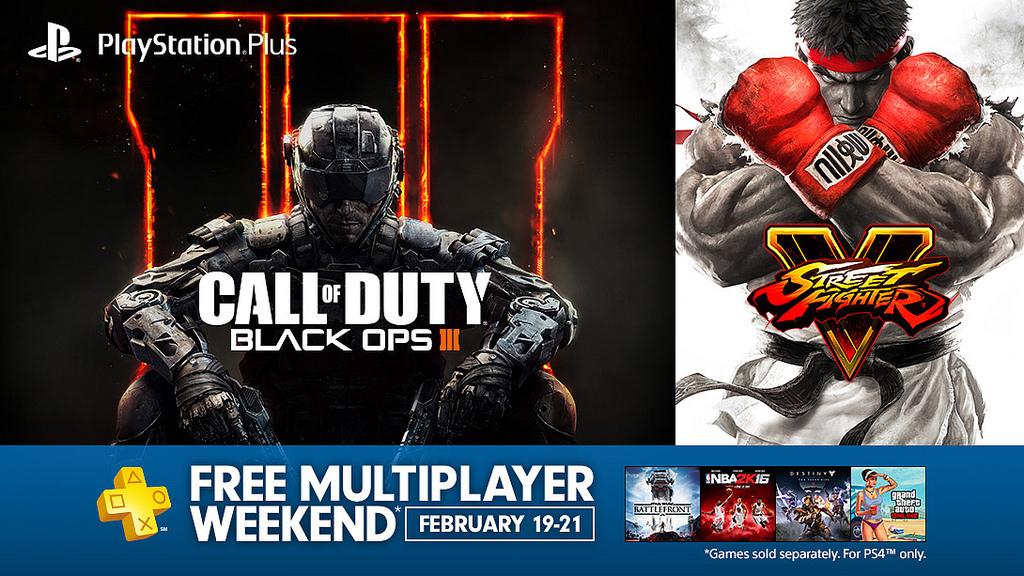 PS4: Multijugador Gratis (Abierto) Este fin de semana (19-21)