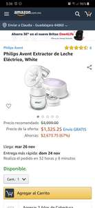 Amazon Philips Avent Extractor eléctrico
