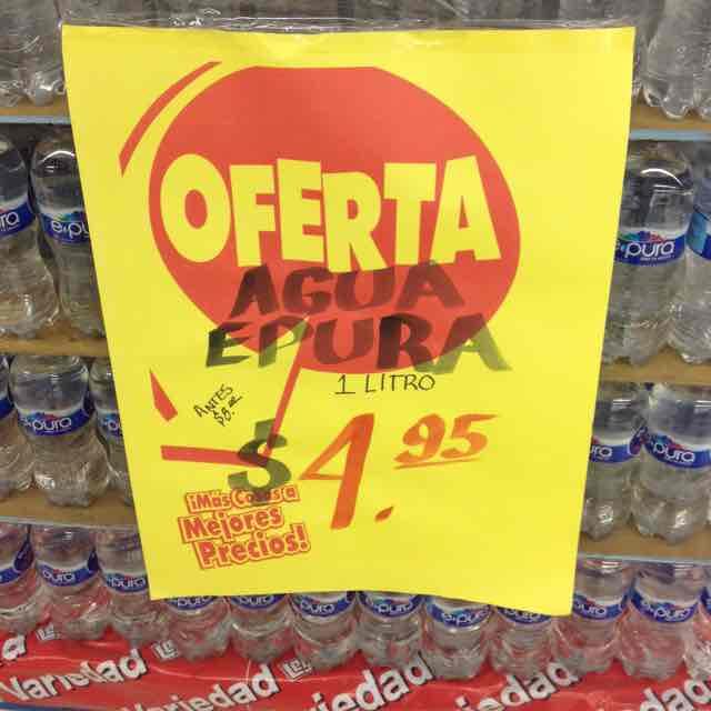Casa Ley: Agua Epura 1LT a $4.95