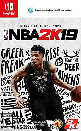 Amazon: NBA 2K-2019 para nintendo switch
