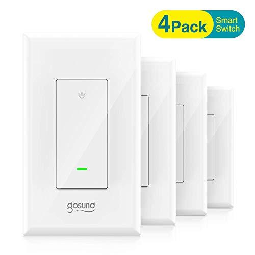 Amazon: Paquete de 4 interruptores inteligentes