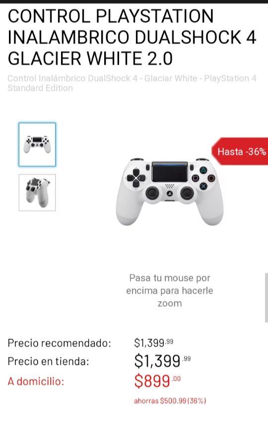 Gameplanet: Control PS4 White Glacier