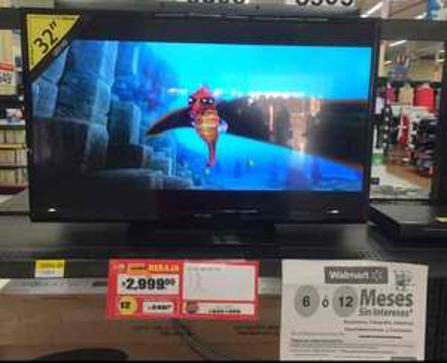 Walmart Boca del Río: Pantalla HD Atvio LED 32 pulgadas a $2,999