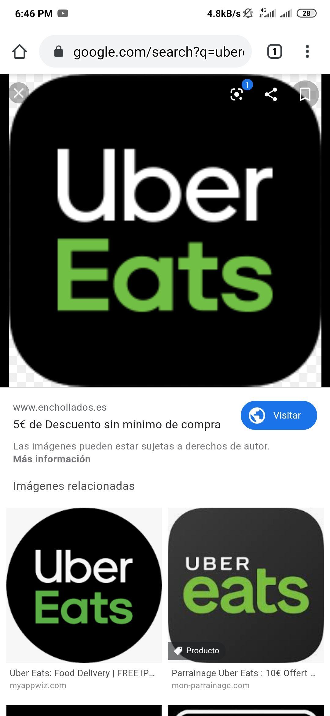Uber Eats: Envio gratis 6 próximos pedidos (usuarios seleccionados)