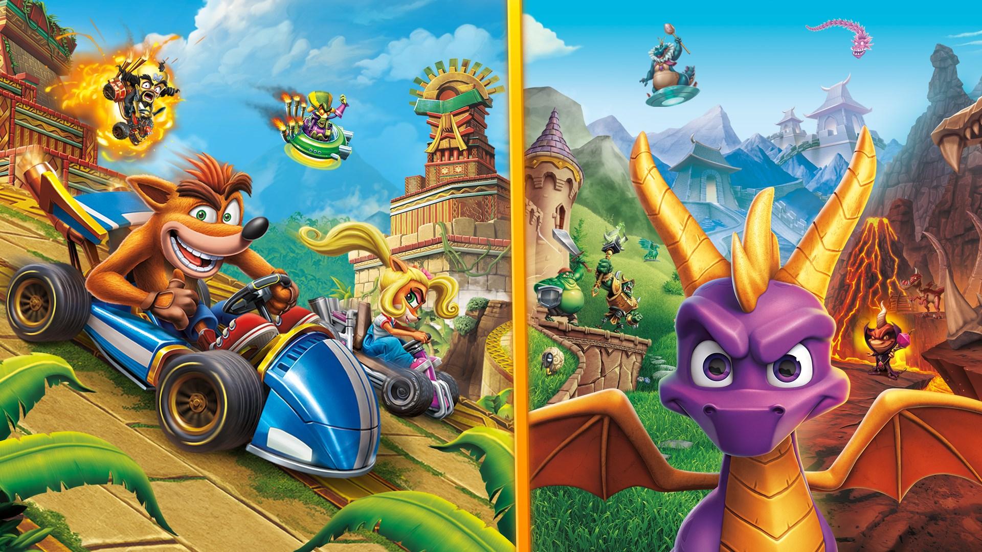 Microsoft store: Lote Crash™ Team Racing Nitro-Fueled + Spyro™