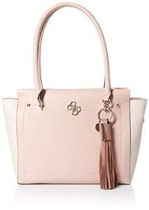 Amazon: bolsa guess en nude y naranja