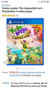 Amazon: Yooka-Laylee: The Impossible Lair PS4